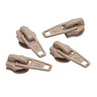 No.3 Beige Zip Pullers - 1 piece