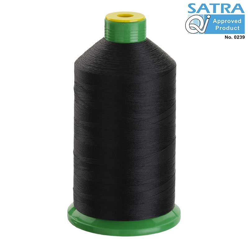 Tkt 20 Black Nylon 6 6 Bonded Sewing Thread 1500m